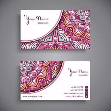 colores para tarjetas de presentacion para mujeres