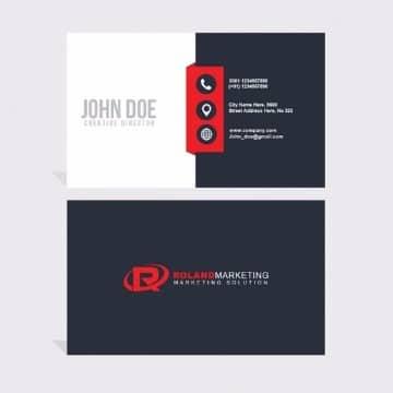 colores para tarjetas de presentacion sobrias