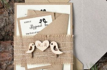 invitaciones para boda religiosa rustica