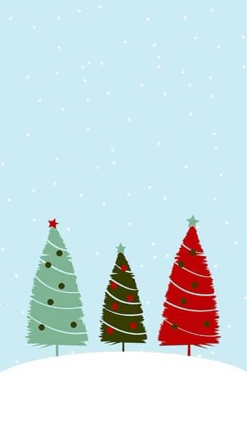 marcos para tarjetas de navidad de arboles