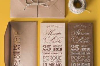 tarjetas de bodas en español originales
