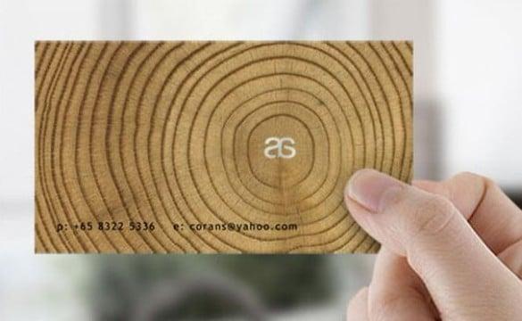 tarjetas de presentacion carpinteria con diseño