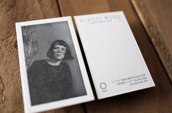 tarjetas de presentacion fotografos creativas