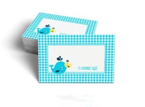 tarjetas de presentacion infantiles para niños