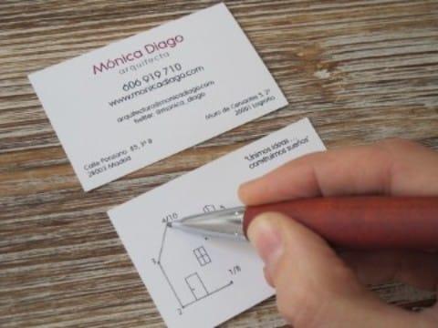 tarjetas de presentacion para arquitectos creativas