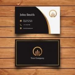 tarjetas de presentacion para contadores elegantes