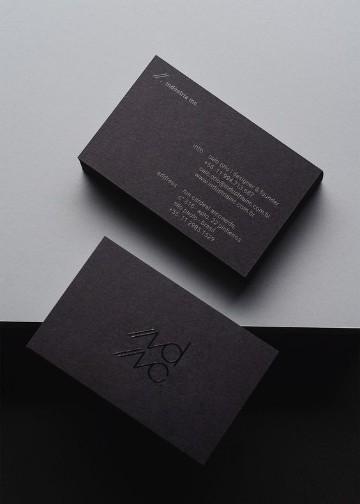 tarjetas personales de abogados sencillas