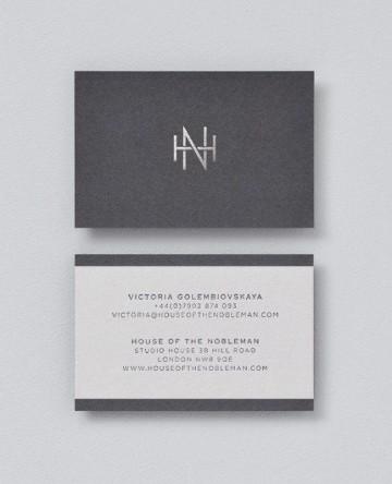 tarjetas personales de abogados sobrias