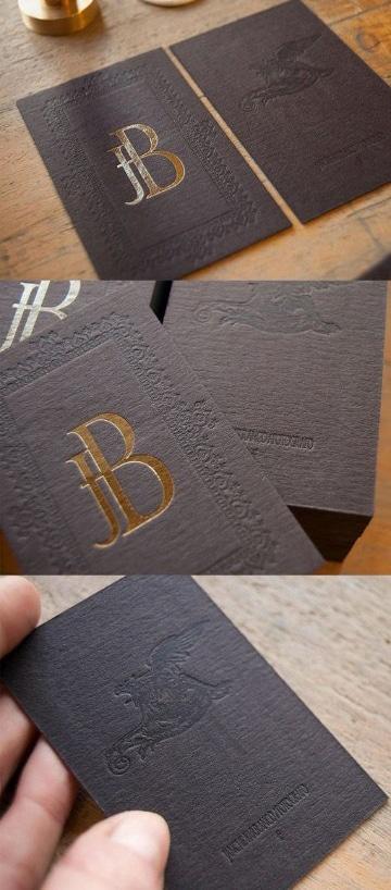 tarjetas personales elegantes de color
