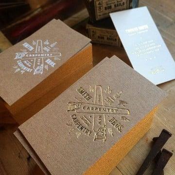 tarjetas personales elegantes representativas
