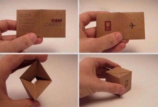 tipos de tarjetas de presentacion creativas