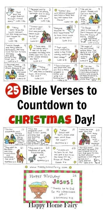 calendarios creativos para niños biblicos