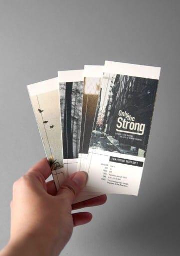 diseño de boletas para eventos sencillas