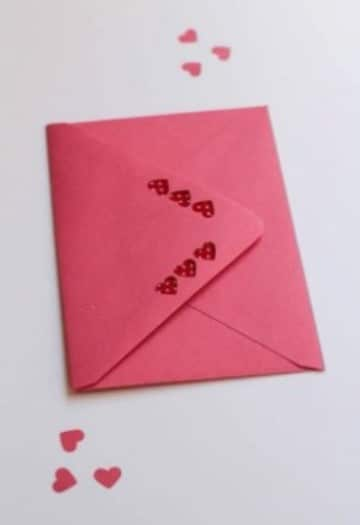 imagenes de sobres decorados con corazones