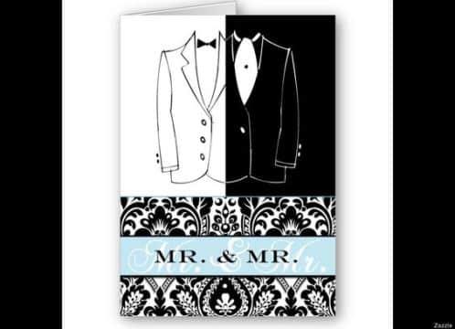 invitaciones de boda gay