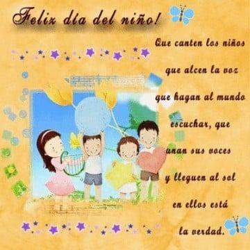 invitaciones para el dia del niño en español