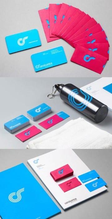 logos para tarjetas de presentacion minimalista