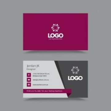 logos para tarjetas de presentacion para diseñador