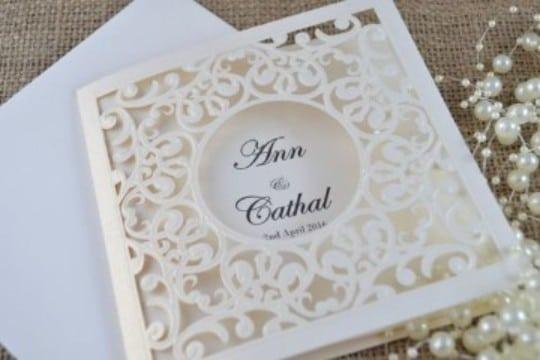 partes de matrimonio elegantes y originales