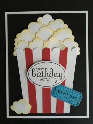 tarjetas creativas de cumpleaños con estilo