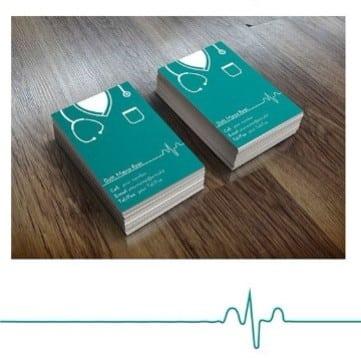 tarjetas de presentacion medicos internista