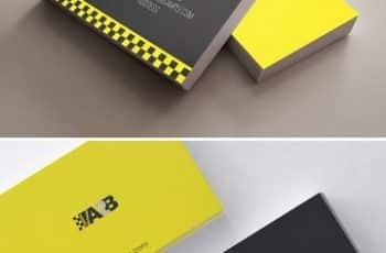 tarjetas de presentacion para taxi con estilo