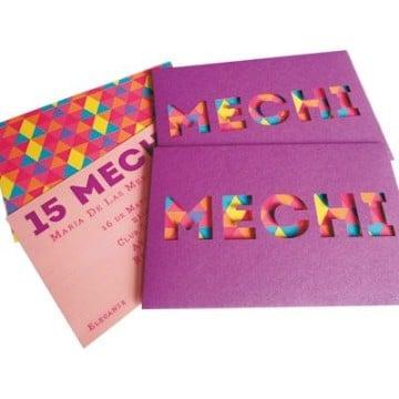tarjetas para 15 años creativas