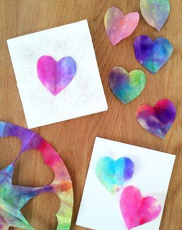 como hacer tarjetas de corazon a mano