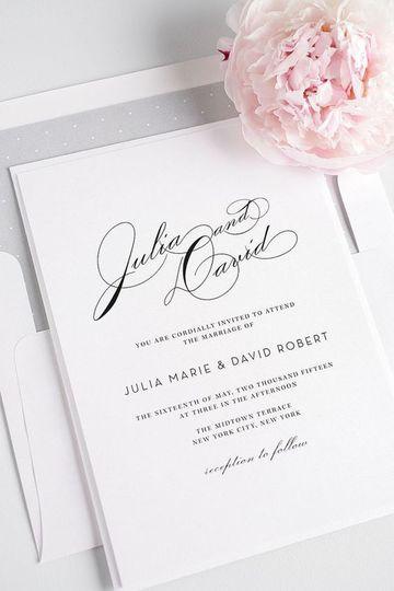 invitaciones de boda en blanco