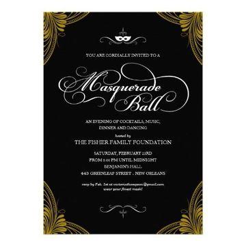 invitaciones formales para eventos beneficos