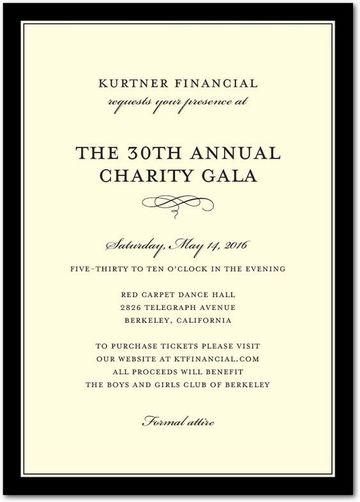 invitaciones formales para eventos empresariales