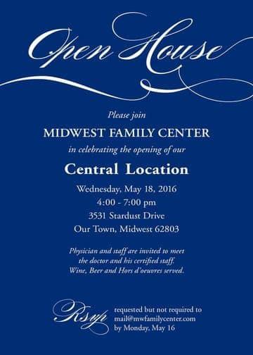invitaciones formales para eventos sociales