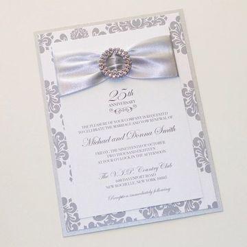 Las Invitaciones Para Bodas De Plata Como Deben Ser