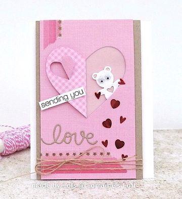 modelos de tarjetas de amor creativa