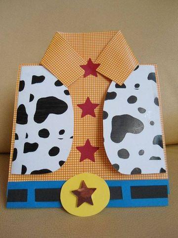 sobres para invitaciones infantiles hecho a mano