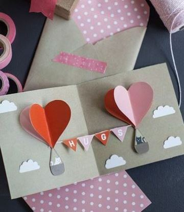 tarjetas 3d de amor pop up