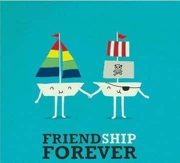 tarjetas de amistad graciosas para hombres