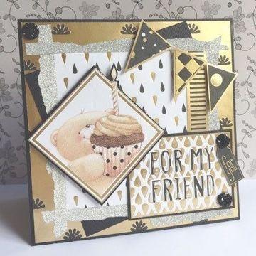 tarjetas de cumpleaños de ositos para amigos