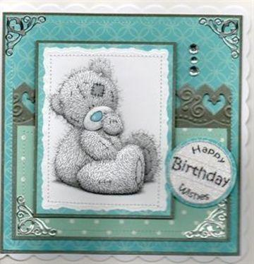 tarjetas de cumpleaños de ositos para niño