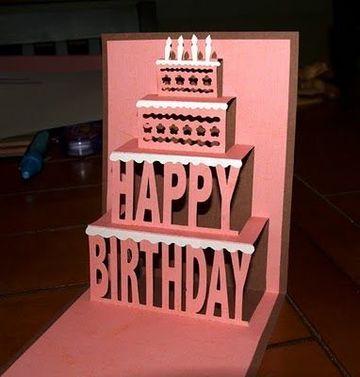 tarjetas de cumpleaños pop up