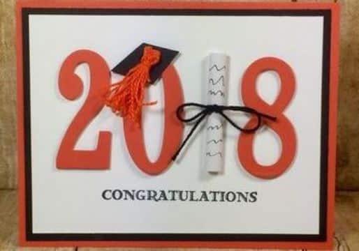 tarjetas de felicitaciones de grado 3D