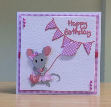 tarjetas de felicitaciones para niños de hembra