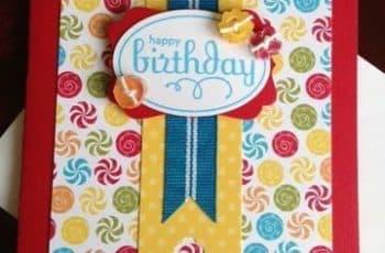 tarjetas de felicitaciones para niños hermosa