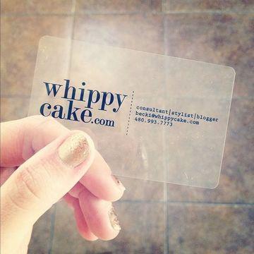 tarjetas de plastico personalizadas transparente