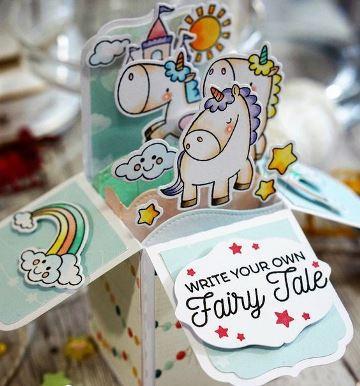tarjetas magicas de cumpleaños infantil