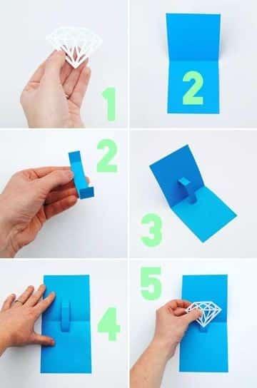 tarjetas pop up paso a paso faciles