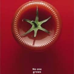 afiches publicitarios de productos simbolico