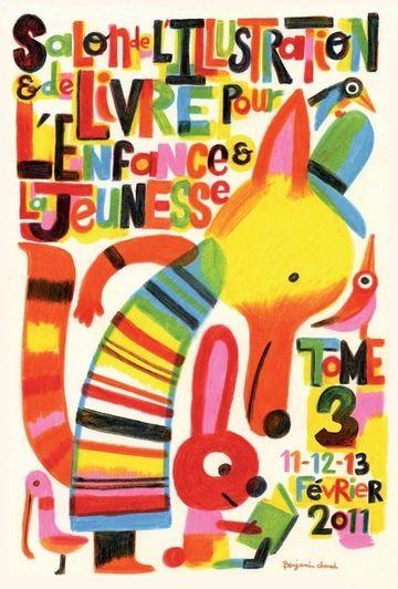 afiches publicitarios para niños de arte