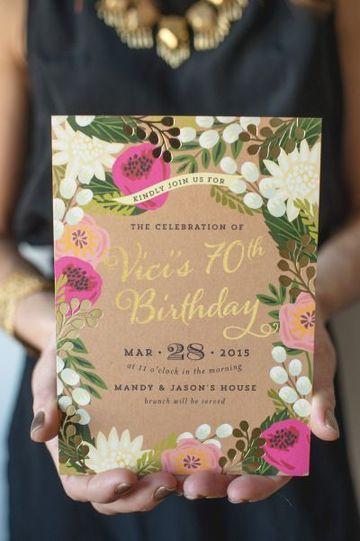 Las Invitaciones Virtuales Para Cumpleaños Son La Gran Idea
