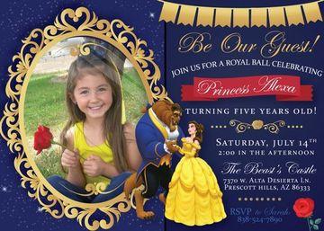 invitaciones virtuales para cumpleaños de niña